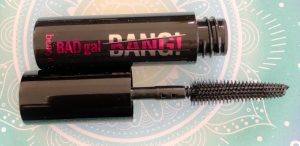 BADgal BANG! 36 hour full blast volumising mascara.  The new mascara from Benefit – with a fabulous slimmer brush.