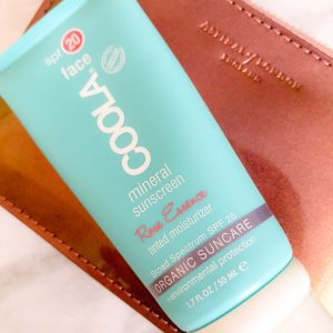 COOLA Mineral Face SPF 20 Rose Essence Tint.  Who doesn't want an organic tinted moisturiser with SPF?