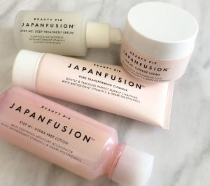 The Japanfusion range.  My first foray into J Beauty.