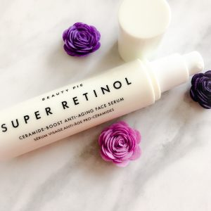 Super Retinol Ceramide-Boost Anti-Aging Face Serum.  An easy to use retinol.