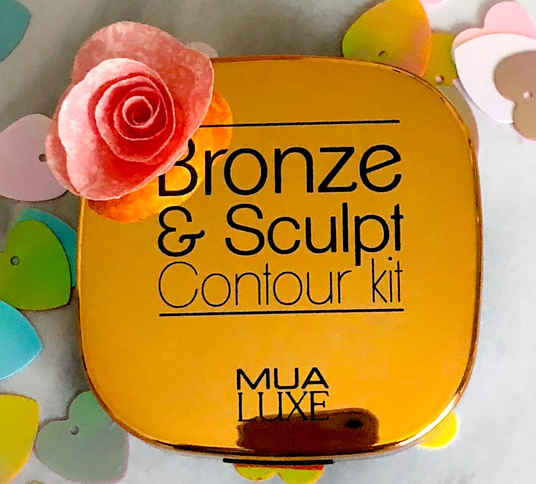 MUA Luxe Bronze and Sculpt Contour Kit.  A great makeup find.